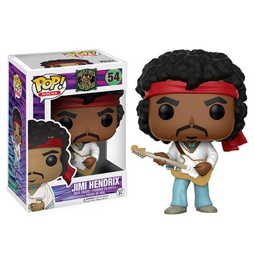 Rocks Pop! Vinyl Figure Jimi Hendrix Woodstock