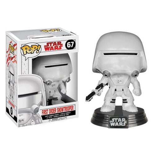 Star Wars Pop! Vinyl Figure First Order Snowtrooper [The Last Jedi] [67]