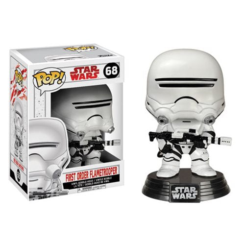 Star Wars Pop! Vinyl Figure First Order Flametrooper [The Last Jedi] [68]