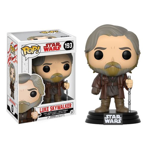 Star Wars Pop! Vinyl Figure Luke Skywalker [The Last Jedi] [193] - Fugitive Toys