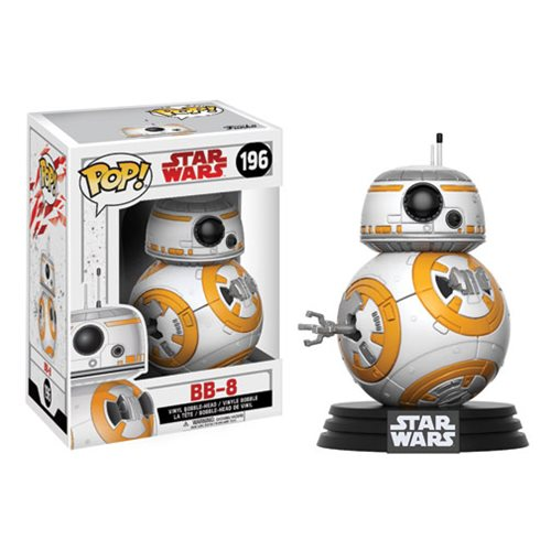 Star Wars Pop! Vinyl Figure BB-8 [The Last Jedi] [196]