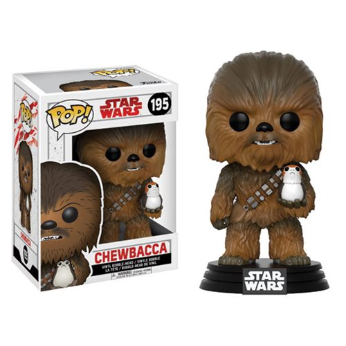 Star Wars Pop! Vinyl Figure Chewbacca [The Last Jedi] [195]