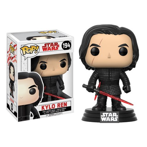 Star Wars Pop! Vinyl Figure Kylo Ren [The Last Jedi] [194]