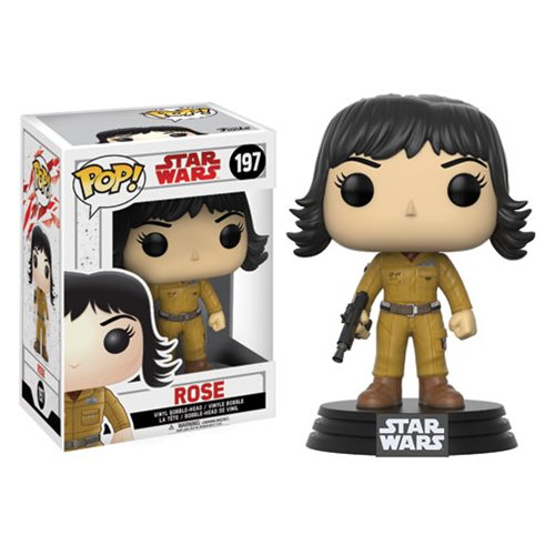 Star Wars Pop! Vinyl Figure Rose [The Last Jedi] [197]