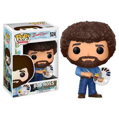 The Joy of Painting Pop! Vinyl Figure Bob Ross