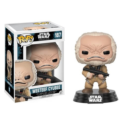 Star Wars Pop! Vinyl Bobblehead Weeteef Cyubee [Rogue One]