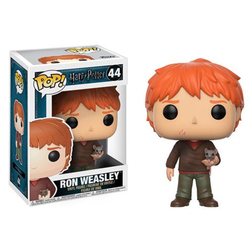 Harry Potter Pop! Vinyl Figure Ron Weasley with Scabbers [44] - Fugitive Toys