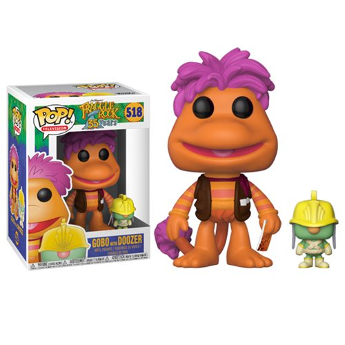 Fraggle Rock Pop! Vinyl Figure Gobo with Doozer [518]
