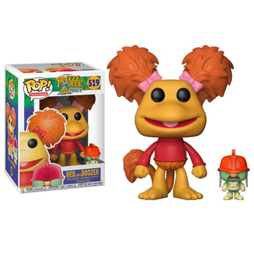 Fraggle Rock Pop! Vinyl Figure Red with Doozer [519] - Fugitive Toys