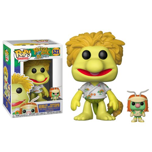Fraggle Rock Pop! Vinyl Figure Wembley with Doozer [521]