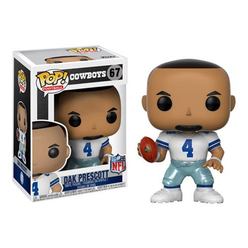 NFL Wave 4 Pop! Vinyl Figure Dak Prescott (Home) [Dallas Cowboys] [67]