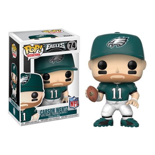 NFL Wave 4 Pop! Vinyl Figure Carson Wentz (Home) [Philadelphia Eagles] [74]