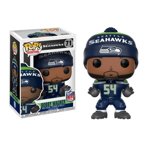 NFL Wave 4 Pop! Vinyl Figure Bobby Wagner (Home) [Seattle Seahawks] [71] - Fugitive Toys
