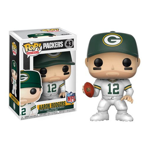 NFL Wave 4 Pop! Vinyl Figure Aaron Rodgers (Color Rush) [Green Bay Packers] [43]