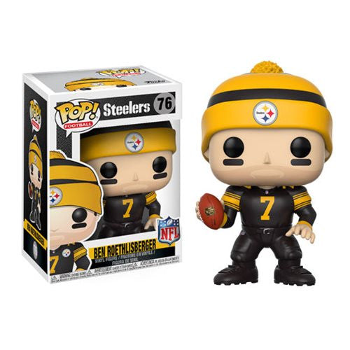 NFL Wave 4 Pop! Vinyl Figure Ben Roethlisberger (Color Rush) [Pittsburg Steelers] [76]