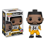 NFL Wave 4 Pop! Vinyl Figure Antonio Brown (Color Rush) [Pittsburg Steelers] [62] - Fugitive Toys