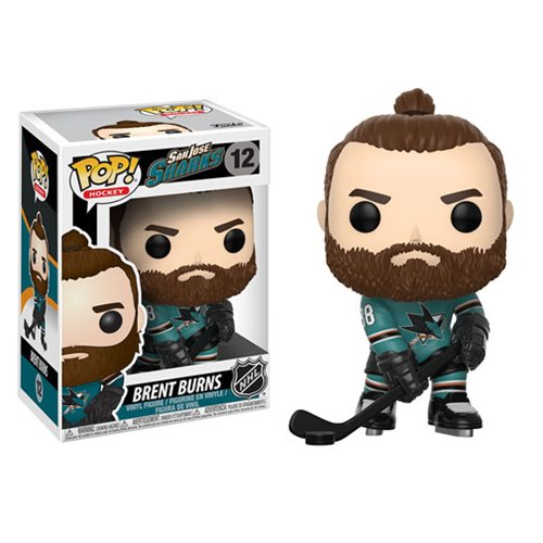 NHL Series 2 Pop! Vinyl Figure Bret Burns [San Jose Sharks] [12] - Fugitive Toys