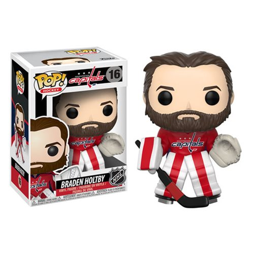 NHL Series 2 Pop! Vinyl Figure Braden Holtby [Washington Capitals] [16]