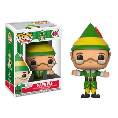 Movies Pop! Vinyl Figure Papa Elf [Elf] [486]