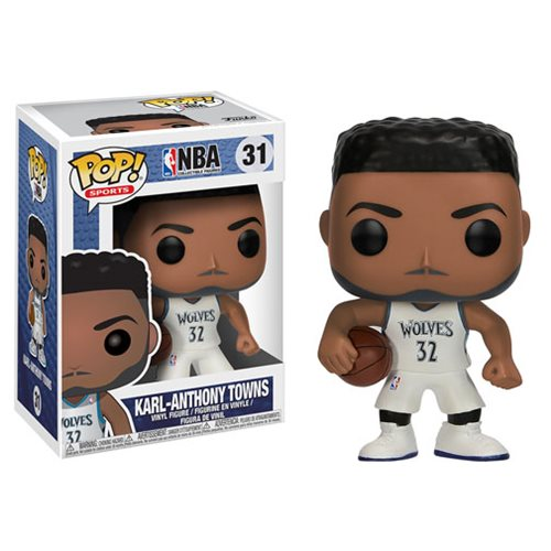 NBA Series 3 Pop! Vinyl Figure Karl Anthony Towns (Wolves) [31]