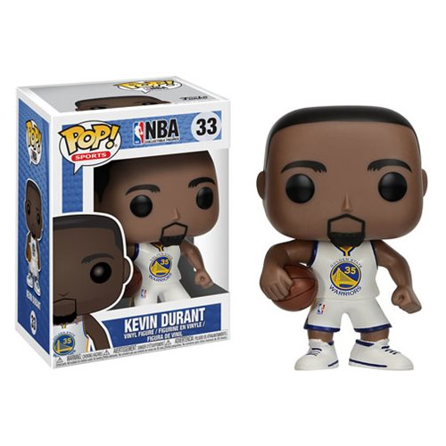 NBA Series 3 Pop! Vinyl Figure Kevin Durant (Warriors) [33]