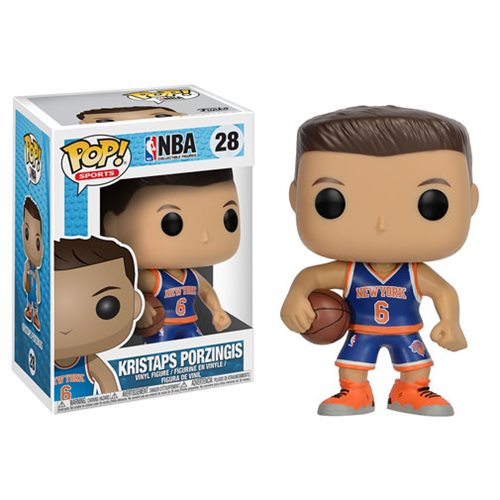 NBA Series 3 Pop! Vinyl Figure Kristaps Porzingis (Knicks) [28]