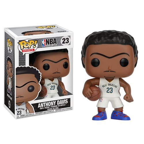 NBA Series 3 Pop! Vinyl Figure Anthony Davis (Pelicans) [23] - Fugitive Toys