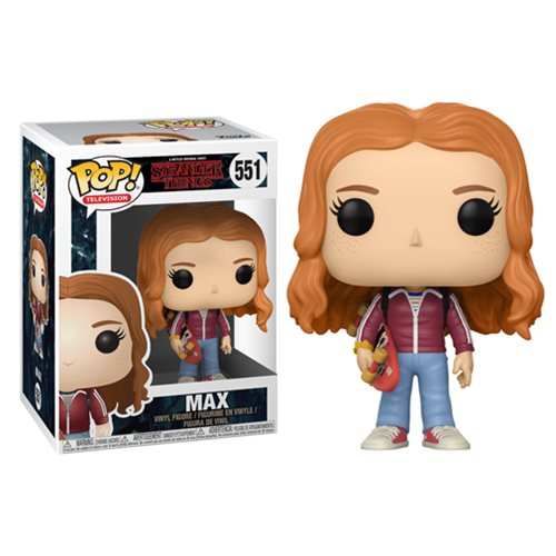 Stranger Things Pop! Vinyl Figure Max with Skateboard [551]