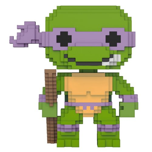 8-Bit Pop! Vinyl Figure Donatello [Teenage Mutant Ninja Turtles] [5] - Fugitive Toys