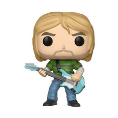 Rocks Pop! Vinyl Figure Kurt Cobain in Striped Shirt