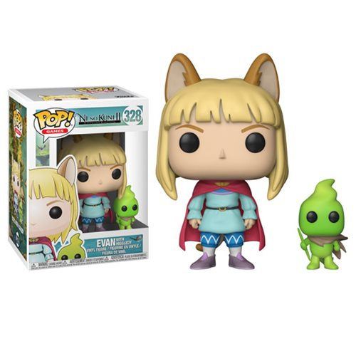Ni No Kuni 2 Pop! Vinyl Figure Evan with Higgledy [328] - Fugitive Toys