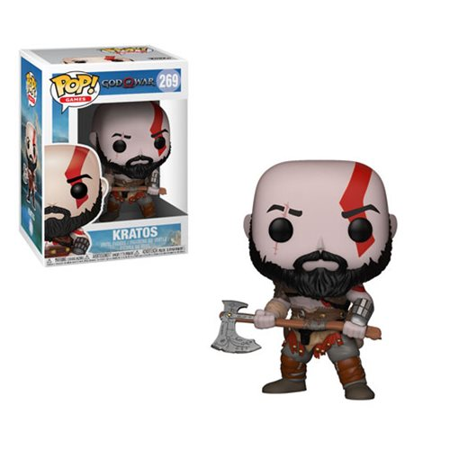 God of War Pop! Vinyl Figure Kratos with Axe [269]