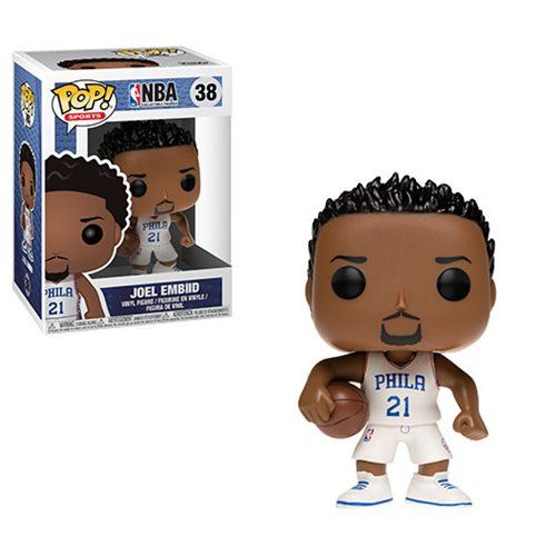 NBA Series 3 Pop! Vinyl Figure Joel Embiid (76ers) [38]