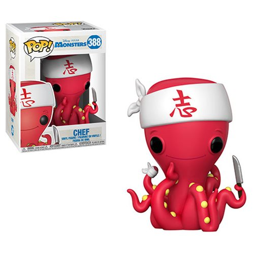 Disney Pop! Vinyl Figure Chef [Monsters Inc] [388]