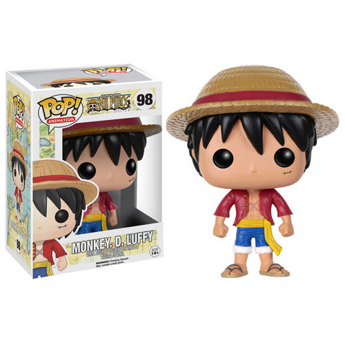 Anime Pop! Vinyl Figure Monkey. D. Luffy [One Piece]