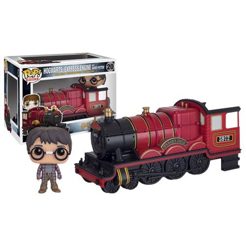 Harry Potter Hogwarts Express Traincar Vehicle with Harry Potter Pop! Vinyl Figure