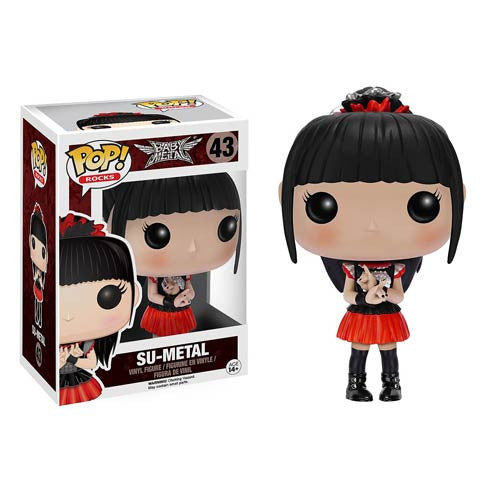 Rocks Pop! Vinyl Figure Su-Metal (BABYMETAL) [43] - Fugitive Toys