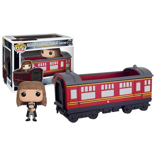 Harry Potter Hogwarts Express Traincar Vehicle with Hermione Granger Pop! Vinyl Figure