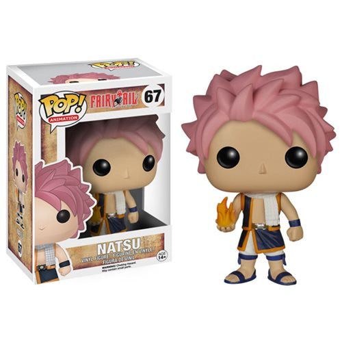 Anime Pop! Vinyl Figure Natsu [Fairy Tail] - Fugitive Toys