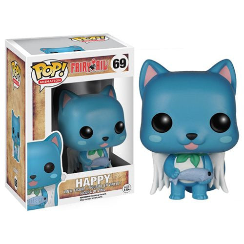 Anime Pop! Vinyl Figure Happy [Fairy Tail]