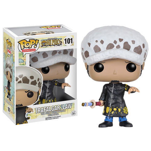 Anime Pop! Vinyl Figure Trafalgar Law [One Piece] - Fugitive Toys