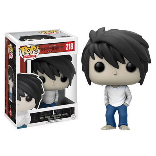 Death Note Pop! Vinyl Figure L - Fugitive Toys