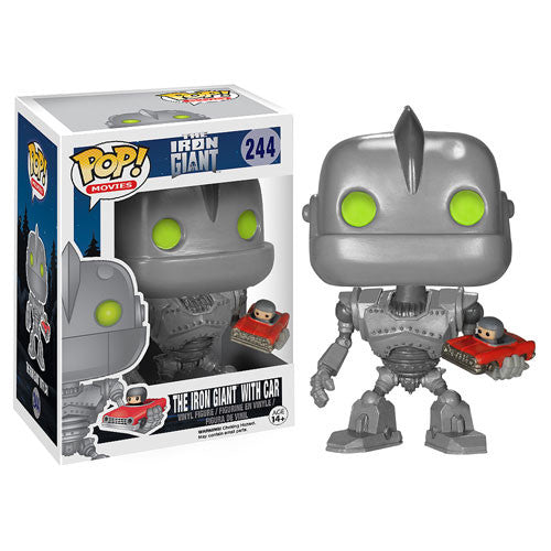 Movies Pop! Vinyl Figure The Iron Giant with Car [The Iron Giant] - Fugitive Toys