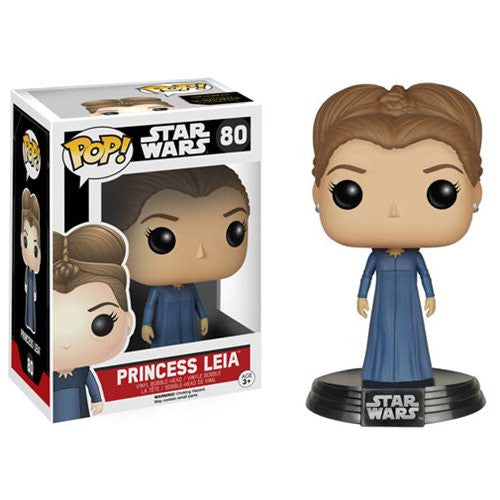 Star Wars Pop! Vinyl Bobblehead Princess Leia [EP7: The Force Awakens] - Fugitive Toys