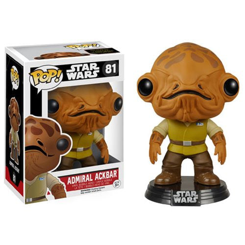 Star Wars Pop! Vinyl Bobblehead Admiral Ackbar [EP7: The Force Awakens]