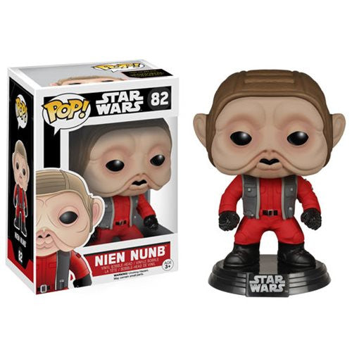 Star Wars Pop! Vinyl Bobblehead Nien Nunb [EP7: The Force Awakens]