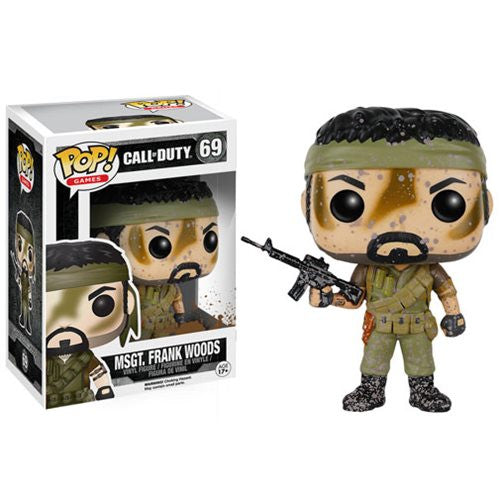 Call of Duty Pop! Vinyl Figure Msgt. Frank Woods