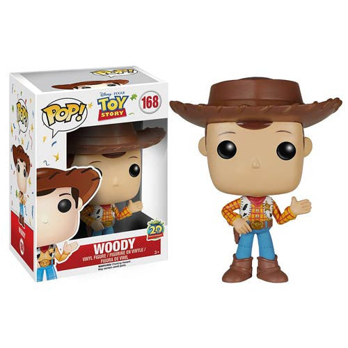 Disney Pop! Vinyl Figure 20th Anniversary Woody [Toy Story] - Fugitive Toys