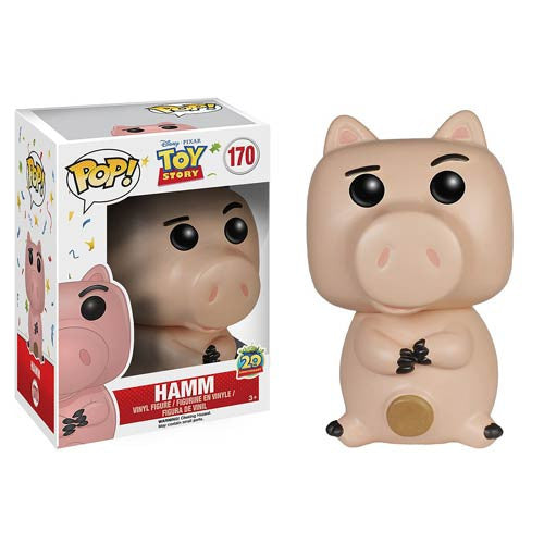 Disney Pop! Vinyl Figure 20th Anniversary Hamm [Toy Story] - Fugitive Toys