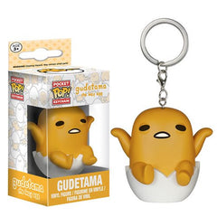 Animation Pocket Pop! Keychain Gudetama